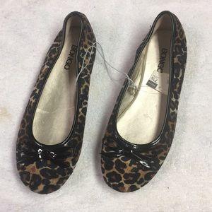 New Leopard Bongo Ballet Flats